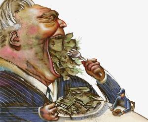 money-greedy